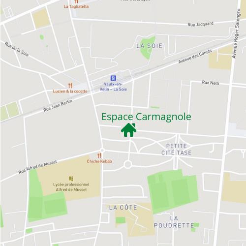 Jardin de l'espace Carmagnole